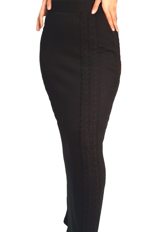 Maya Knit Skirt Black