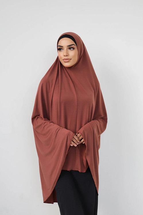Jilbab Sleeveless Premium Rust