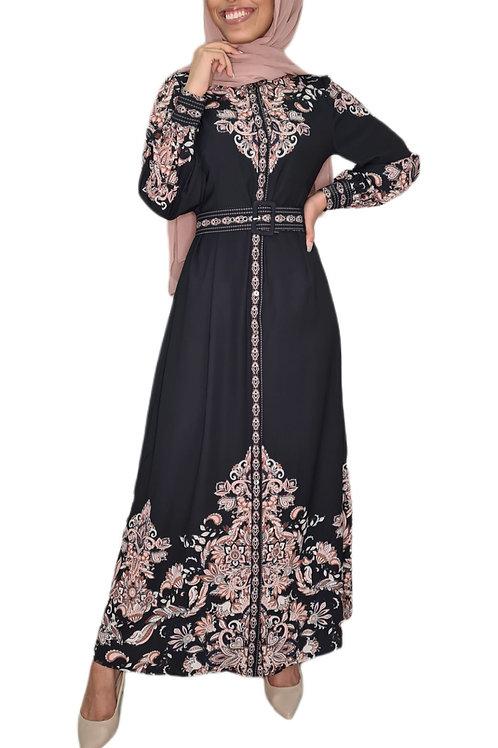 Victoria Maxi Dress Black