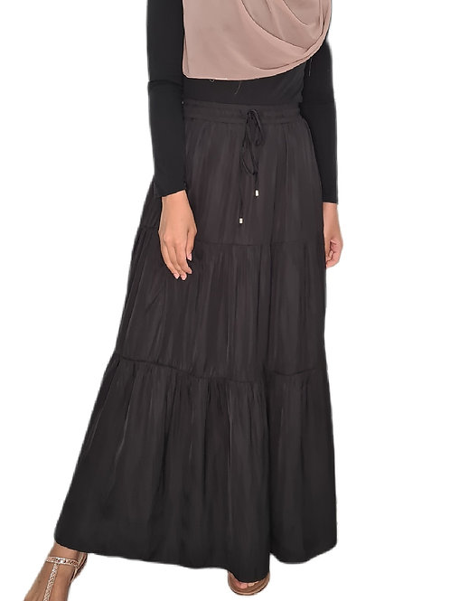 Meera Maxi Skirt Black