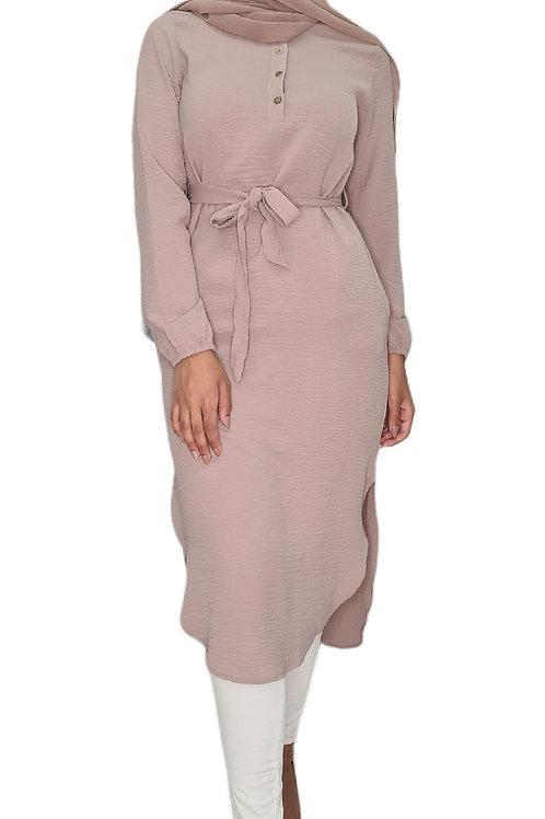 Leena Midi Dress Blush