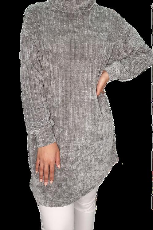 Jelena Knit Turtleneck Grey