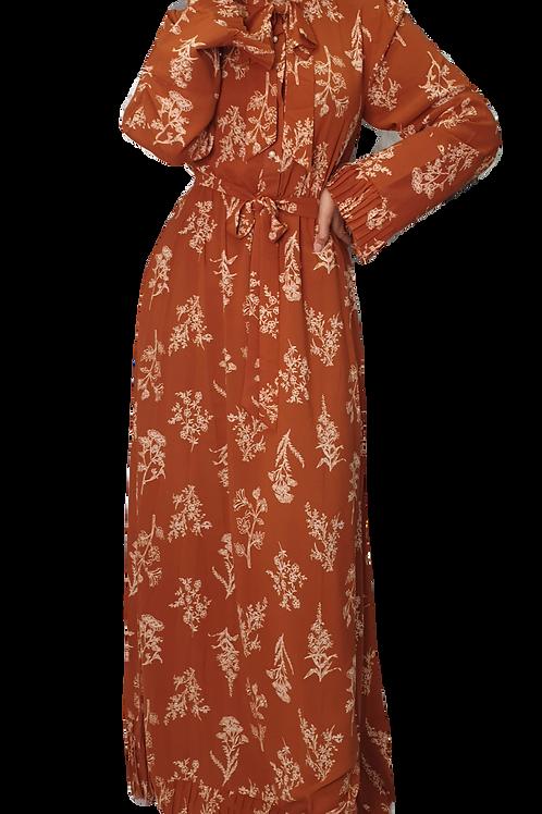 Ochre Maxi Dress
