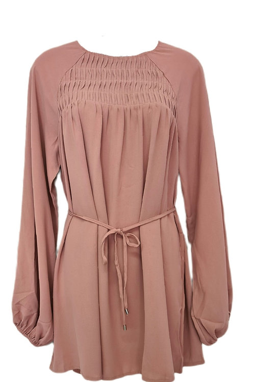 Amara Cotton Top Blush