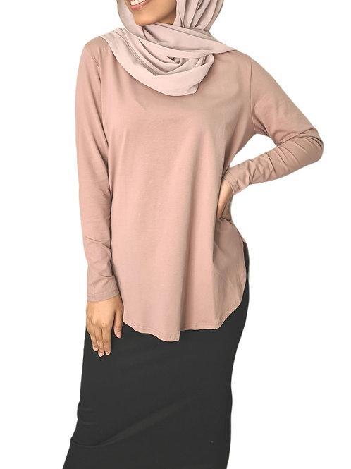 Sienna Cotton Top Blush Pink