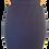 Thumbnail: Knit Ribbed Skirt Navy
