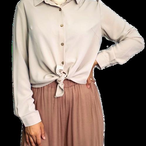 Samantha Shirt Taupe