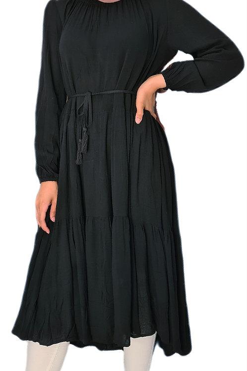 Zunairah Dress Black