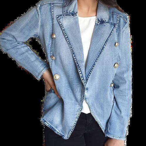 Alexa Denim Jacket Blue