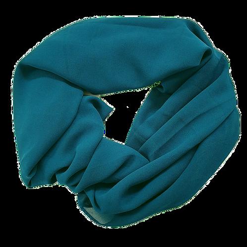 Chiffon Crepe - Turquoise (2)