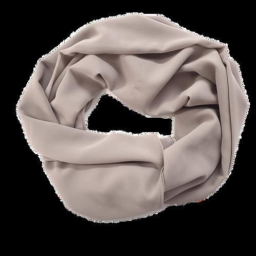 Chiffon Crepe - Grey Nude (11)