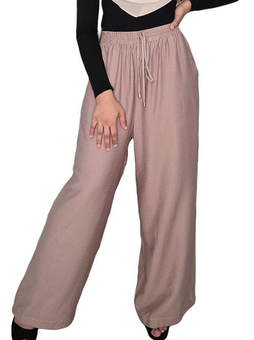 Wide Leg Pants Mocha