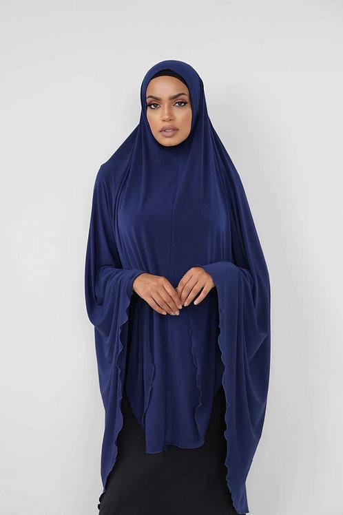 Jilbab Sleeveless Premium Navy