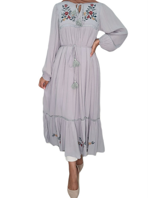 Daphne Emboidered Dress