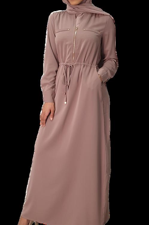 Nisha Maxi Dress Blush