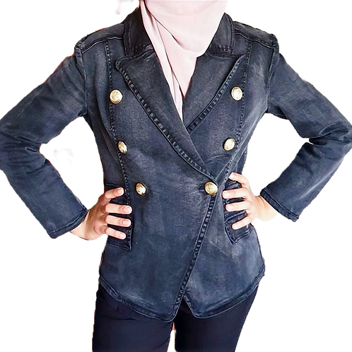 Alexa Denim Jacket Black