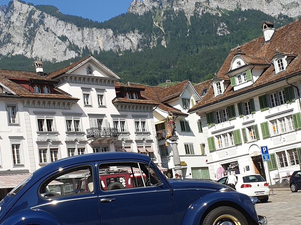 Hauptplatz in Schwyz
