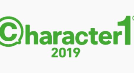 CHARACTER1 2019  GINDARTS STORE 出店のお知らせ