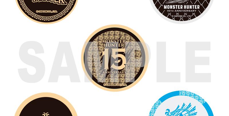 MONSTER HUNTER 15TH メタル缶バッジ