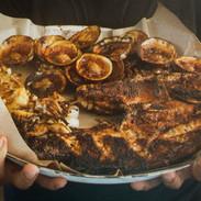 Seafood BBQ ©OnLazySusan