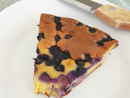 Lemon Blueberry Cake (2 Ways)