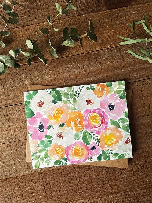 Spring Florals Card