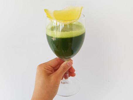 No Juicer Green Juice