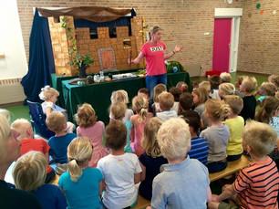 Middeleeuwen in Egmond bij de Jozefschool