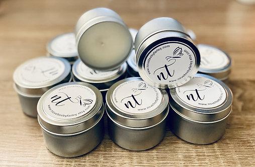 4 oz Silver tin 50 pack wholesale
