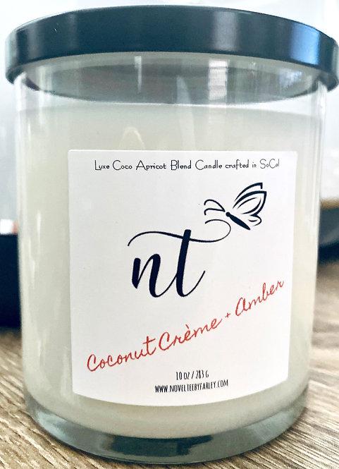 Coconut Crème + Amber