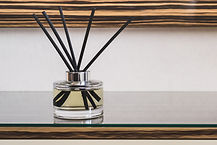 Reed Air Freshener in modern interior cl