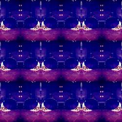 Sleeping Rough by Dana Taylor - Purple R