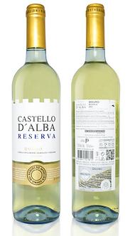 Vinho Branco Castello D'alba Reserva