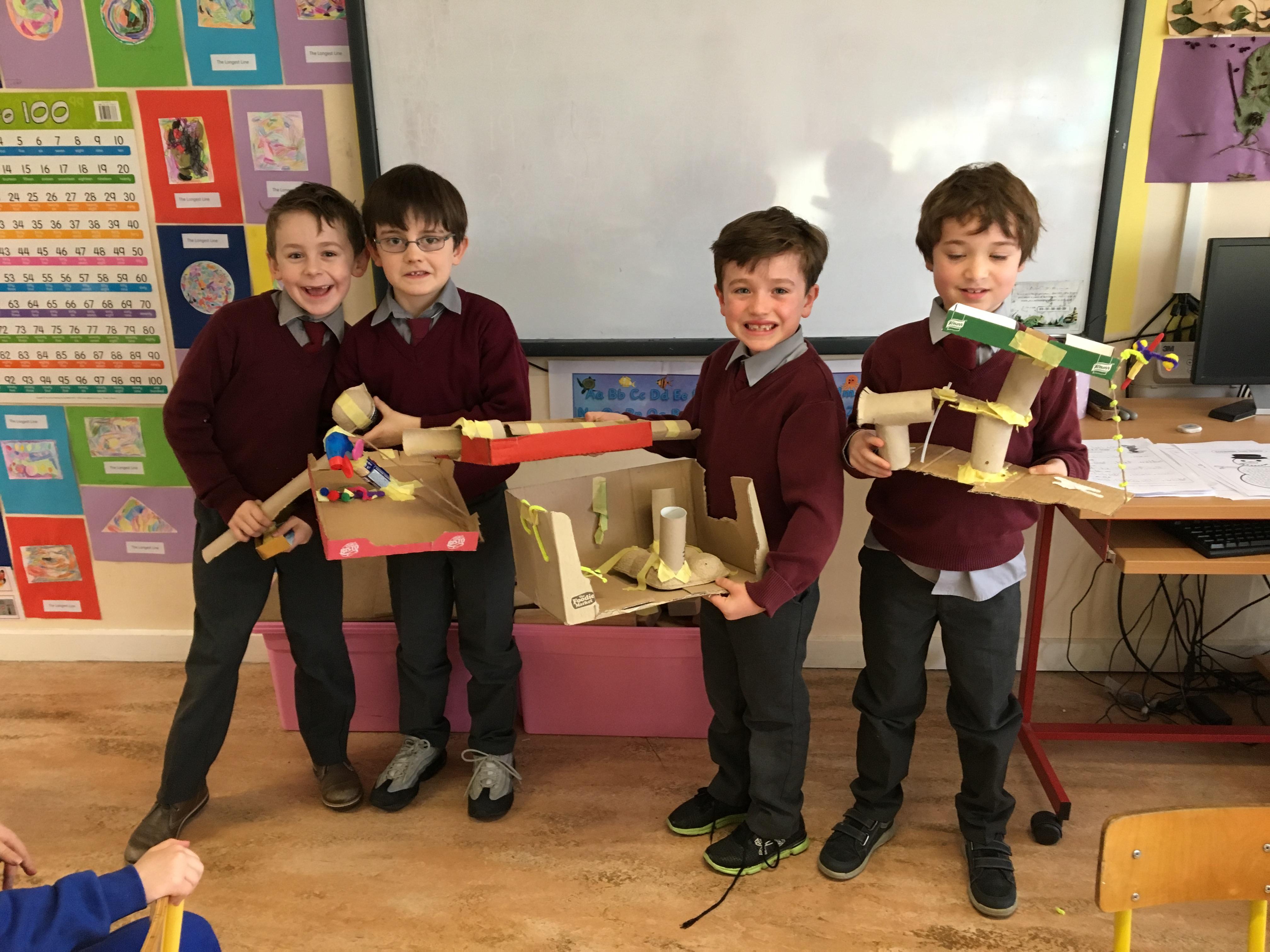 1st - Design & make playground -1
