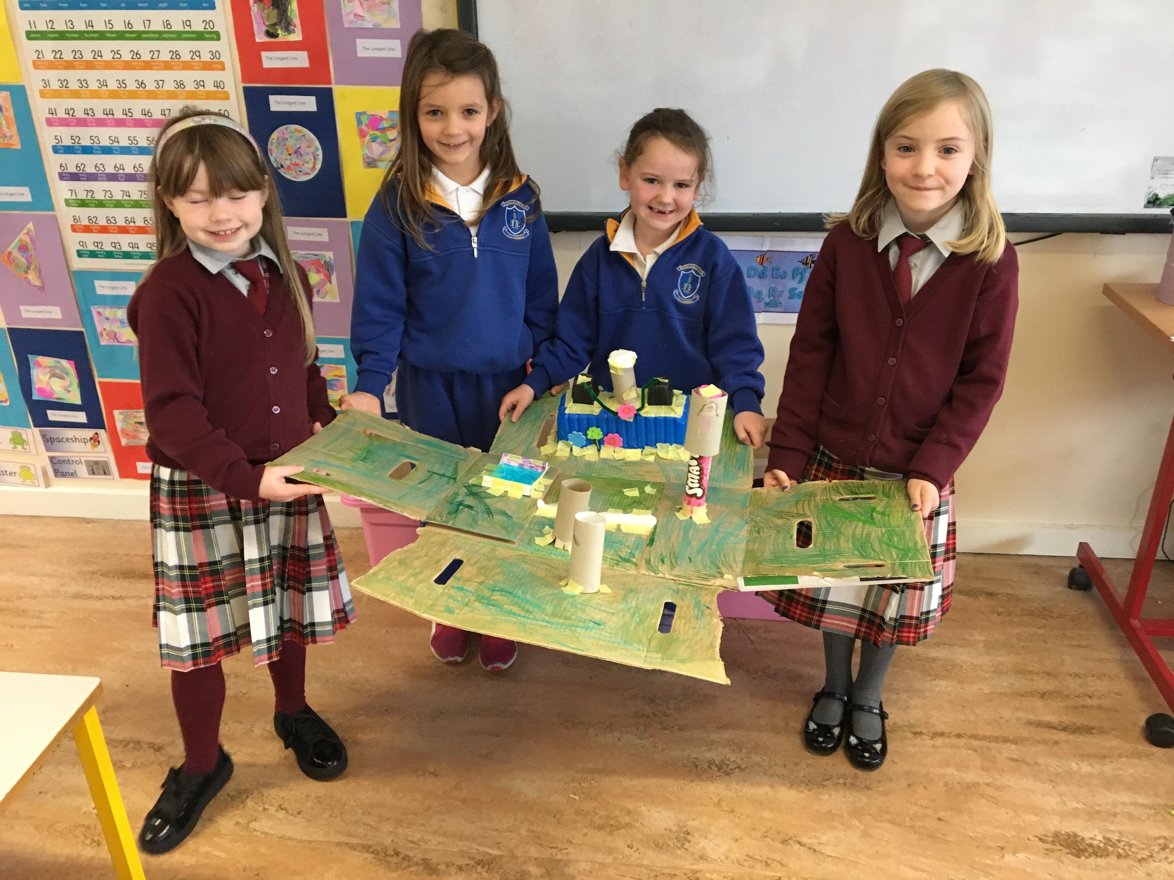 1st class - Design & make playground  -2
