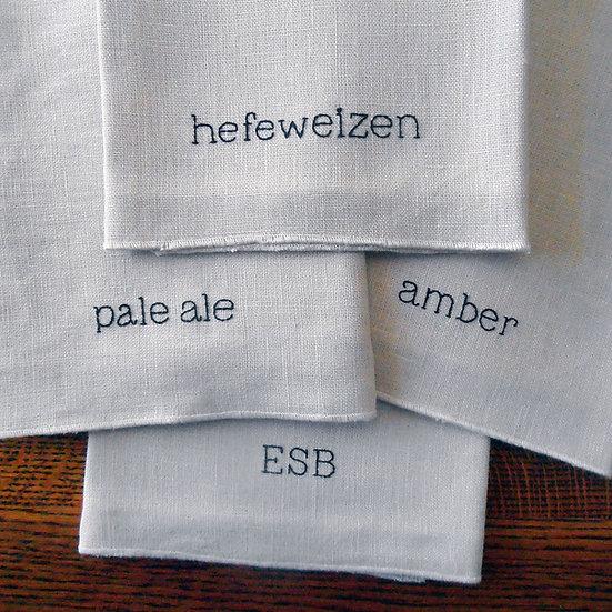 beer napkin set