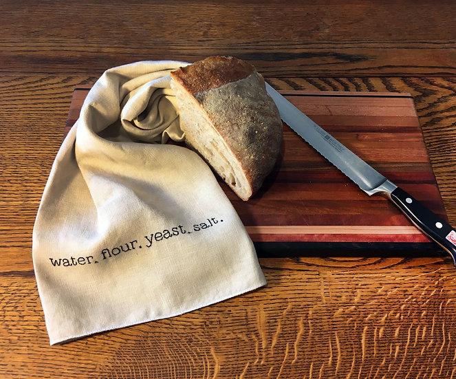 bread tea towel