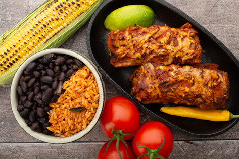 Vegan Enchilada Meal