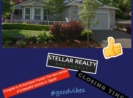Congratulations to my Clients on another successful Close!
