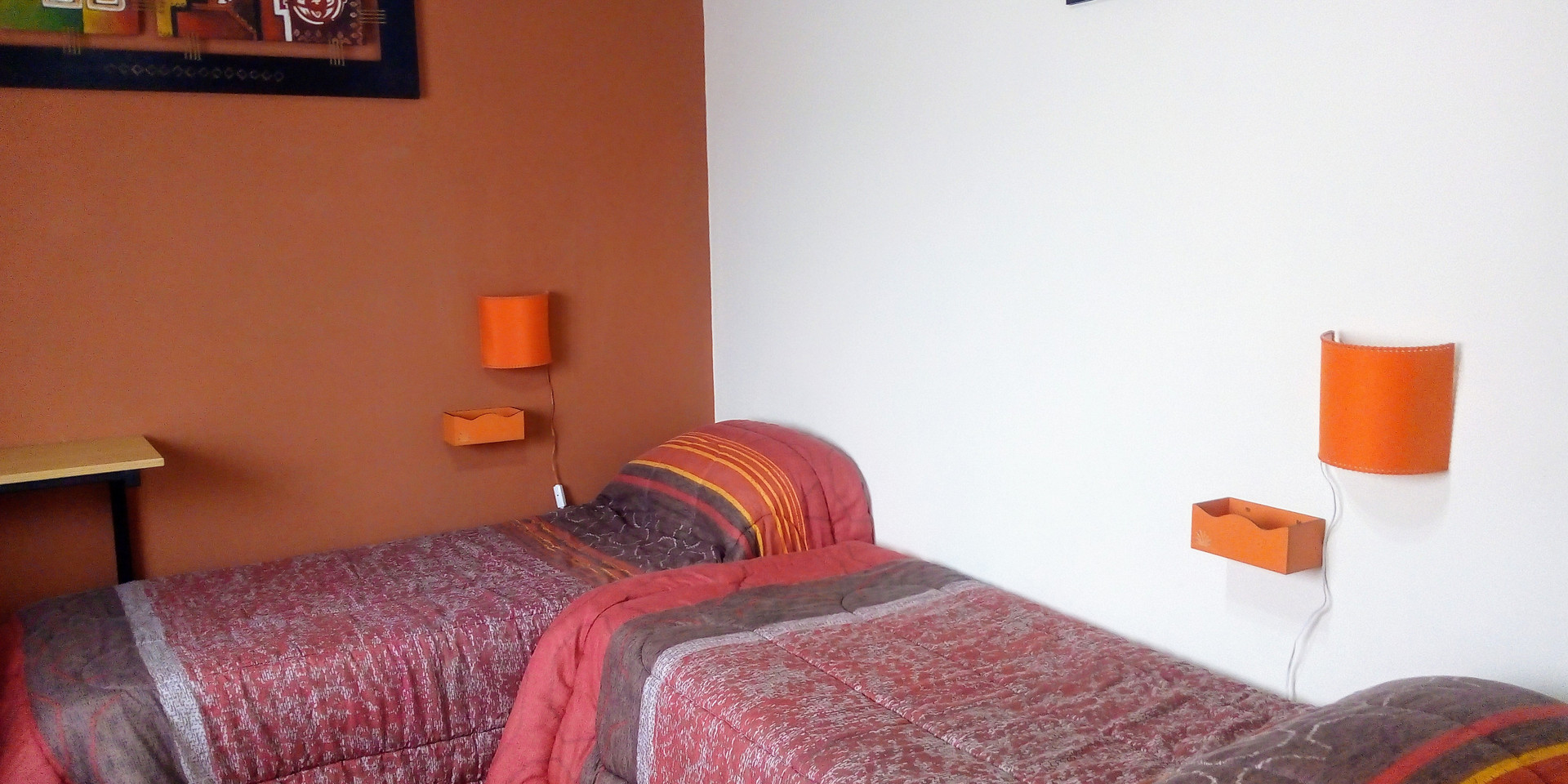 Dormitorio triple o cuádruple