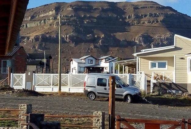 Vista desde los dormitorios al Cerro Calafate