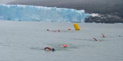 Nado en aguas frías