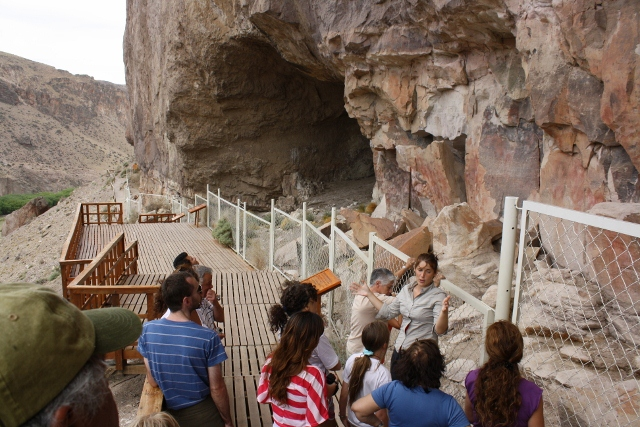 Cuevas de las Manos, norte de Sta Cruz