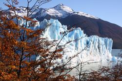 Glaciar Perito Moreno en otoño