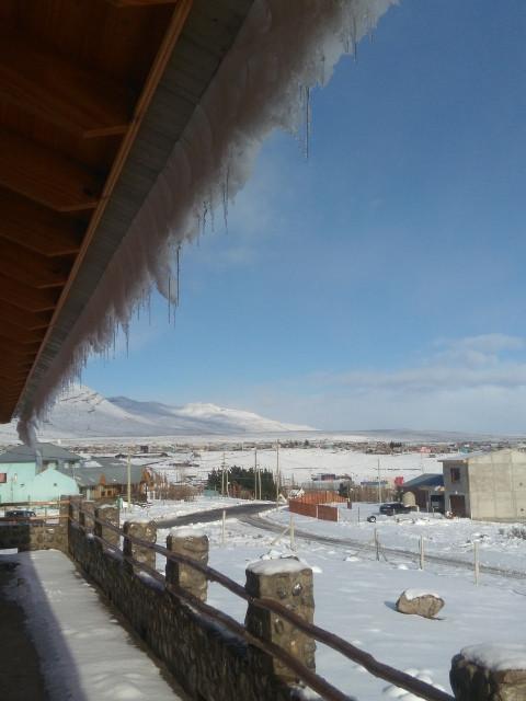 Invierno desde el balcón