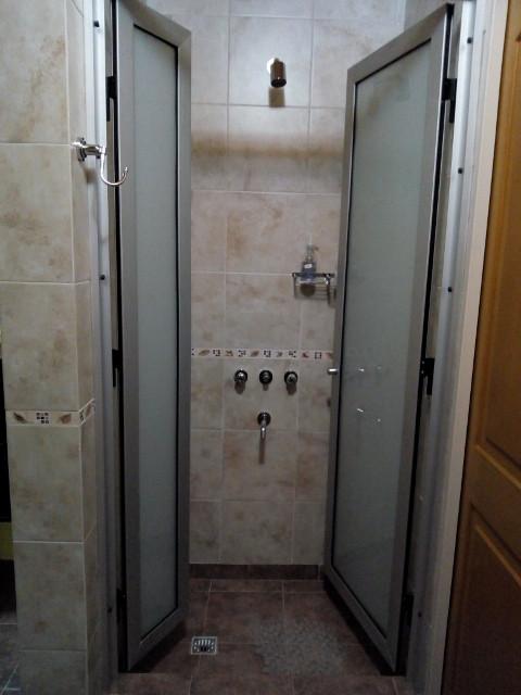Baño: ducha sin cambiador