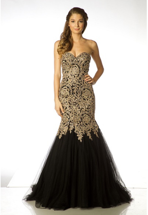 Black Strapless Prom Dress | Home | Perfect Images Entertainment ...