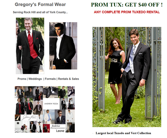 Gregory's Formal Wear