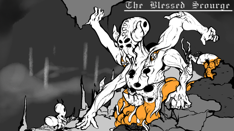 "Illustration ""Boss Battle"""