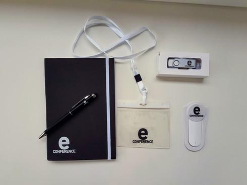 Kit d'objets publicitaires personnalisés